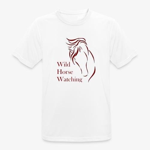 Logo Aveto Wild Horses - Maglietta da uomo traspirante