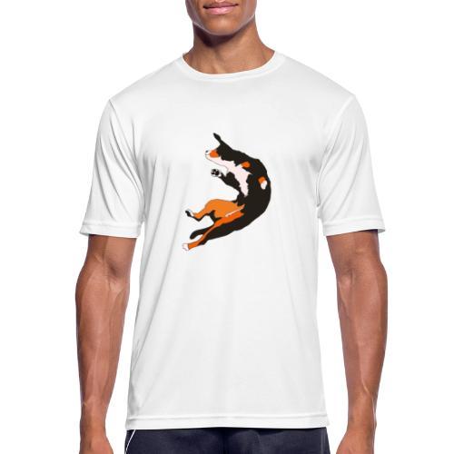 Entlebucher Hopp - Andningsaktiv T-shirt herr