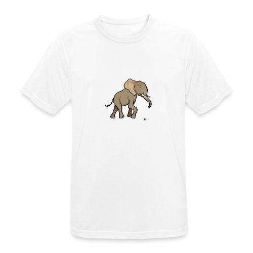 African Elephant - Men's Breathable T-Shirt