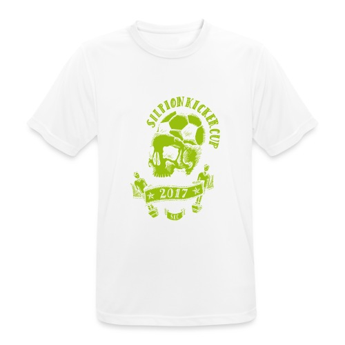 Logo Silpion Kicker Cup 2017 - Männer T-Shirt atmungsaktiv