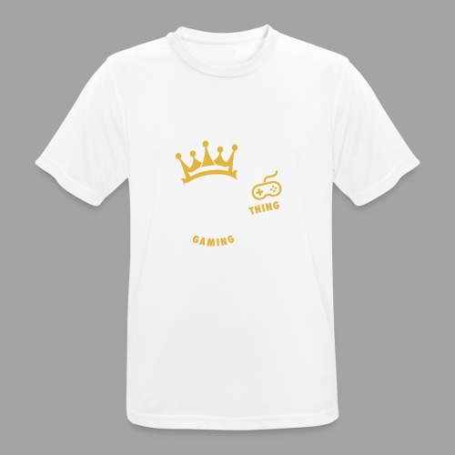 That King Thing Logo - Men's Breathable T-Shirt