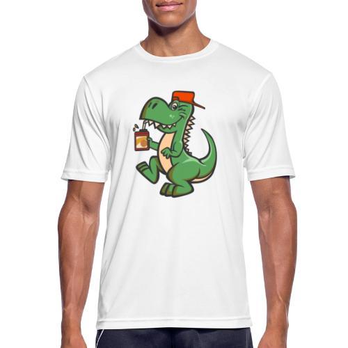 HEMI THE DINOSAUR - miesten tekninen t-paita