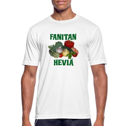 Fanitan heviä - miesten tekninen t-paita