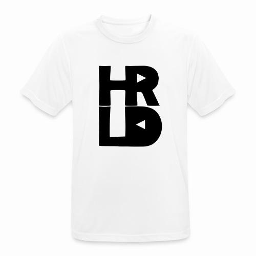 HRLD Black Logo - miesten tekninen t-paita