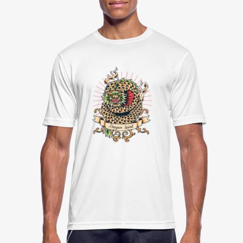 Drachengeist - Männer T-Shirt atmungsaktiv