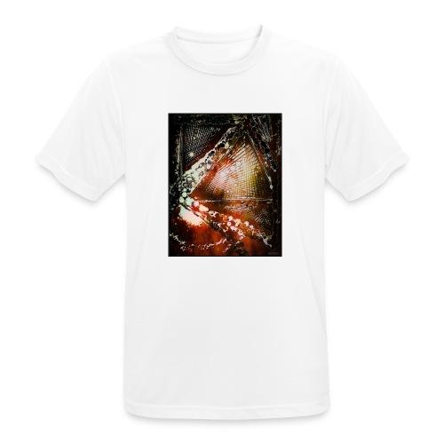 Verfangen in Struktur - Männer T-Shirt atmungsaktiv