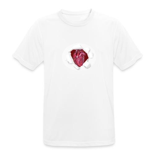 CUORE BATTICUORE - Maglietta da uomo traspirante