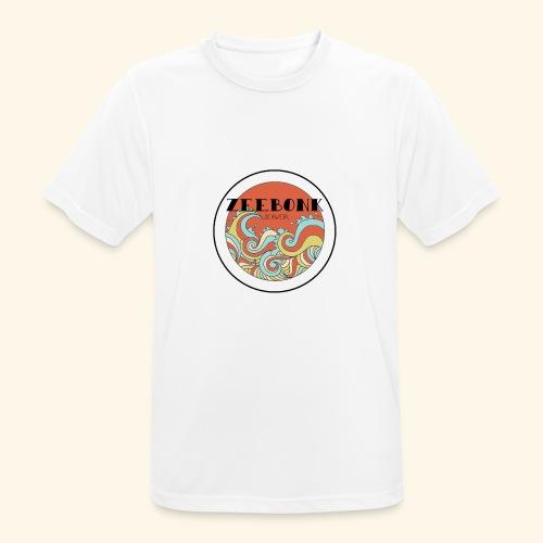 zeebonkwaves - Mannen T-shirt ademend actief