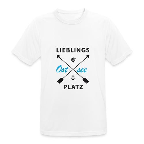 Lieblingsplatz Ostsee - Männer T-Shirt atmungsaktiv