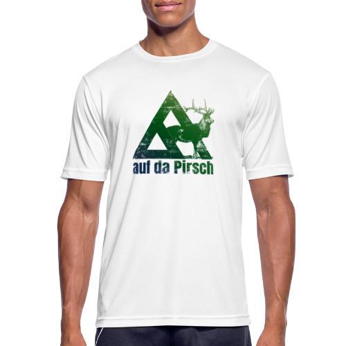 Auf da Pirsch - Männer T-Shirt atmungsaktiv