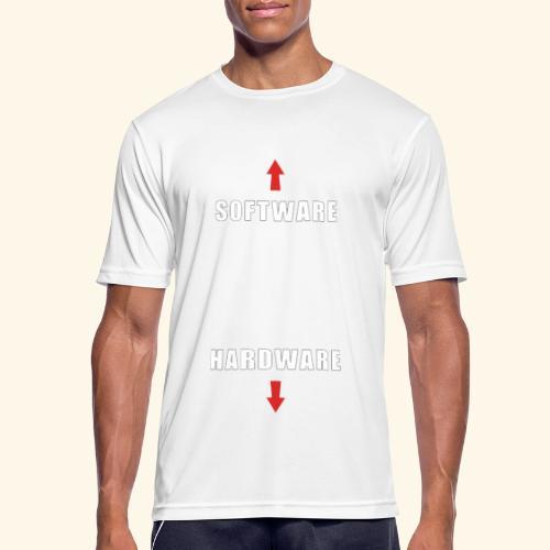 software hardware V2 - Camiseta hombre transpirable