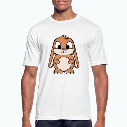 Lily Bunny - Appelsin - Andningsaktiv T-shirt herr
