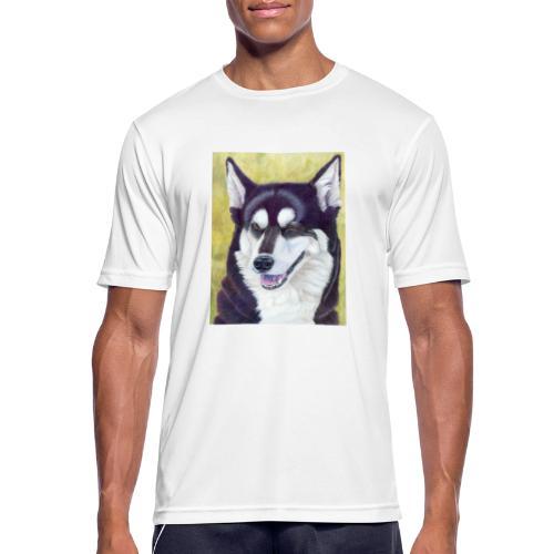 Siberian husky - Herre T-shirt svedtransporterende