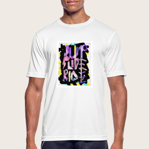 Jump - Slide - Ride - Männer T-Shirt atmungsaktiv
