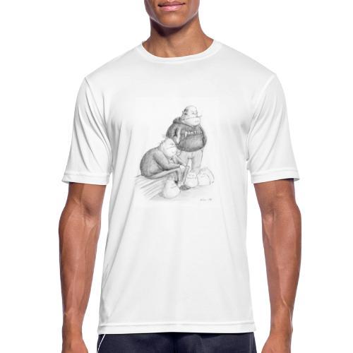 I väntan på bussen i Grums - Andningsaktiv T-shirt herr