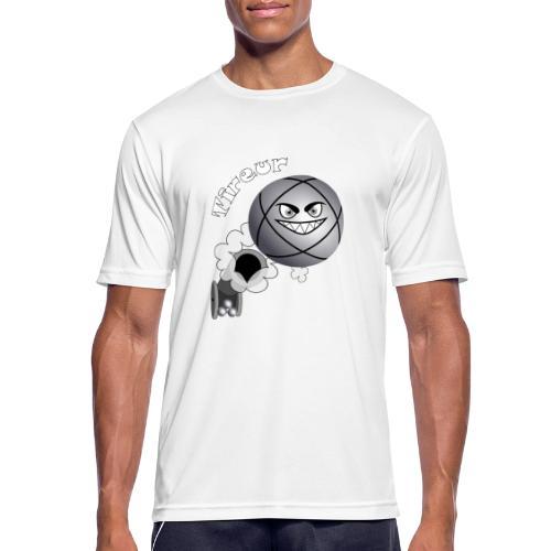 t shirt tireur pétanque boule existe en pointeur B - T-shirt respirant Homme