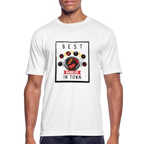 Best BBQ in Town - Männer T-Shirt atmungsaktiv
