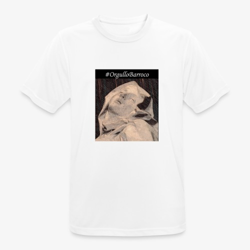 #OrgulloBarroco Teresa dibujo - Camiseta hombre transpirable