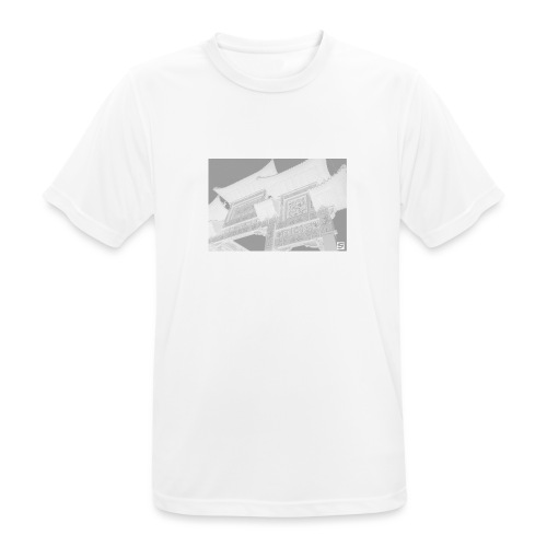 Scouse Chinatown / White - Men's Breathable T-Shirt
