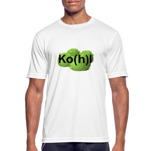 Ko(h)l - Männer T-Shirt atmungsaktiv
