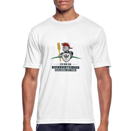 Revierverteidiger rot - Männer T-Shirt atmungsaktiv