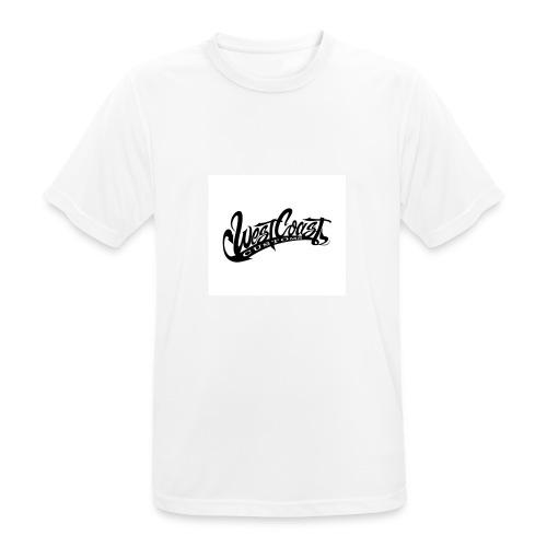 wcc logo black and white - Maglietta da uomo traspirante