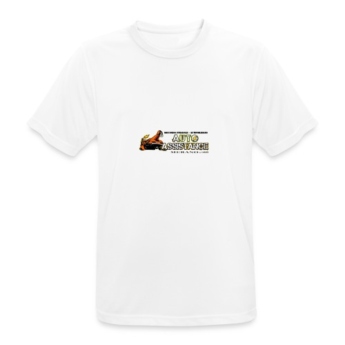 Auto Assistance - Maglietta da uomo traspirante