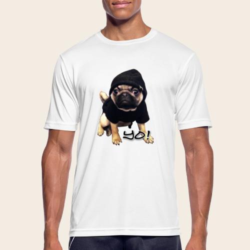 yo_mops_3 - Männer T-Shirt atmungsaktiv