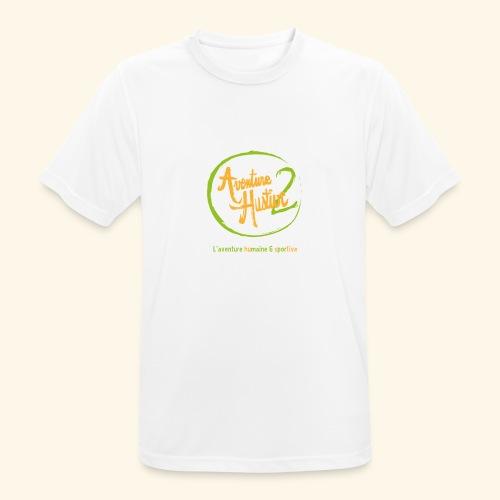 logo AventureHustive 2 - T-shirt respirant Homme