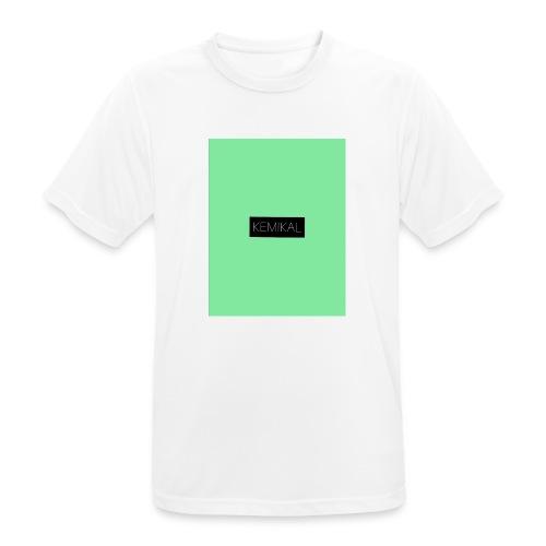 KEMIKAL - Maglietta da uomo traspirante