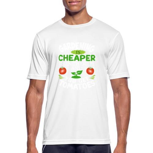 Garten Gartenarbeit Therapie Tomaten Hobbygärtner - Männer T-Shirt atmungsaktiv