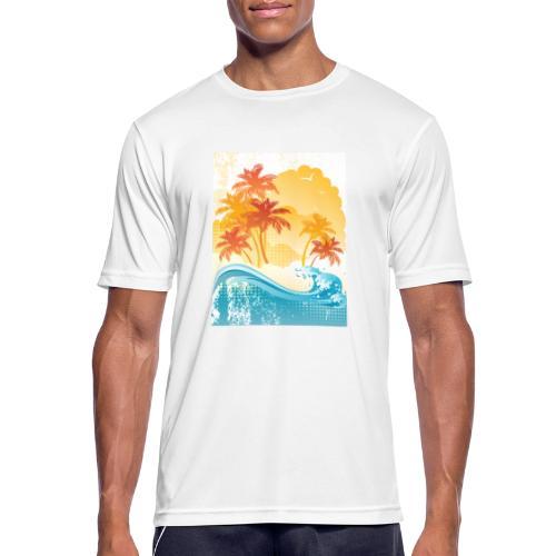 Palm Beach - Men's Breathable T-Shirt