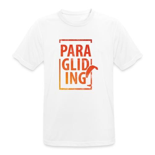 Paragliding Gleitschirmfliegen Paragleiten - Männer T-Shirt atmungsaktiv