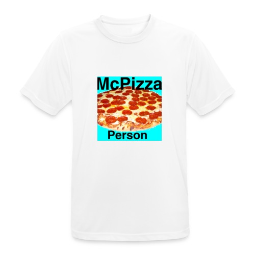 Old McPizzaPerson Logo - Men's Breathable T-Shirt
