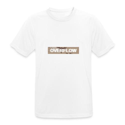 Overflow - T-shirt respirant Homme