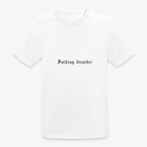 fucking disaster - T-shirt respirant Homme