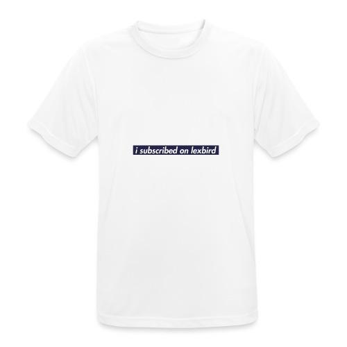 lexbird - Andningsaktiv T-shirt herr