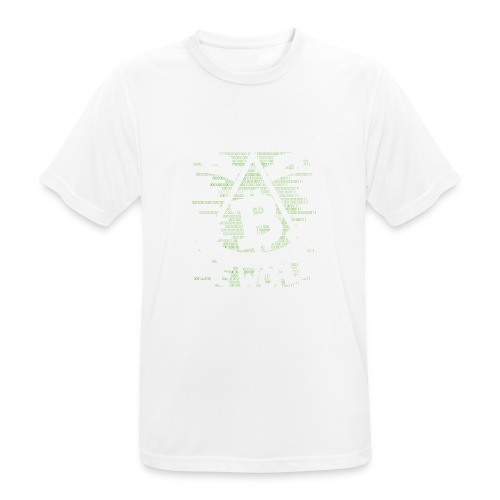 cryptocurrency - Mannen T-shirt ademend