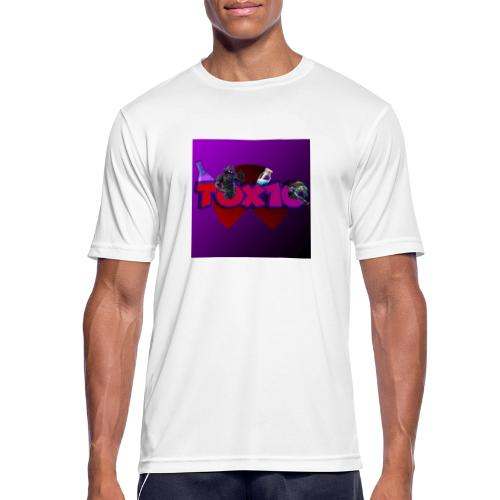 toxic paita - miesten tekninen t-paita