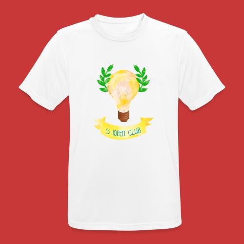 5 IDEEN CLUB Glühbirne 2018 - Männer T-Shirt atmungsaktiv