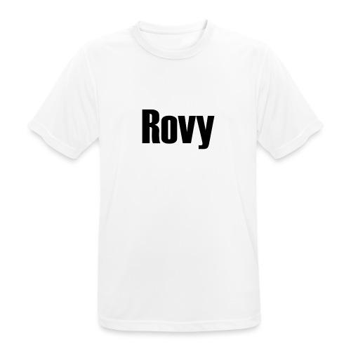 Rovy - Mannen T-shirt ademend actief