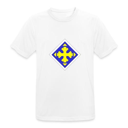 Mäksäreppu, vaalean sininen - miesten tekninen t-paita