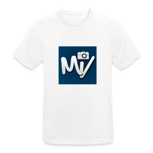 Maxvlogs T-shirt - Mannen T-shirt ademend actief