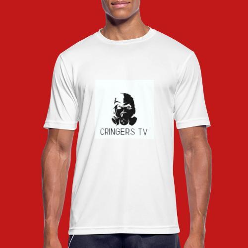 Original Cringers Tv Logga - Andningsaktiv T-shirt herr