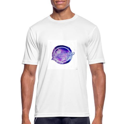 Housebass easy logo - Andningsaktiv T-shirt herr