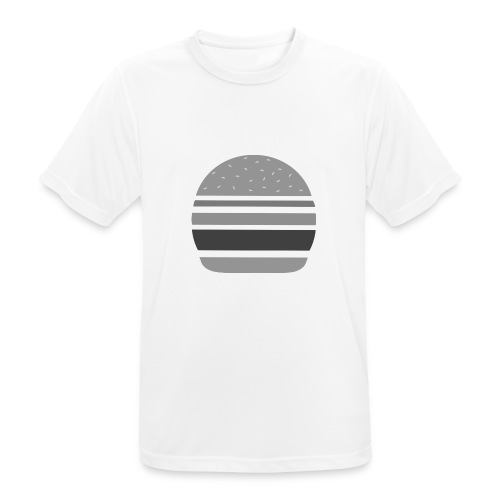 Logo_panhamburger_gris - T-shirt respirant Homme