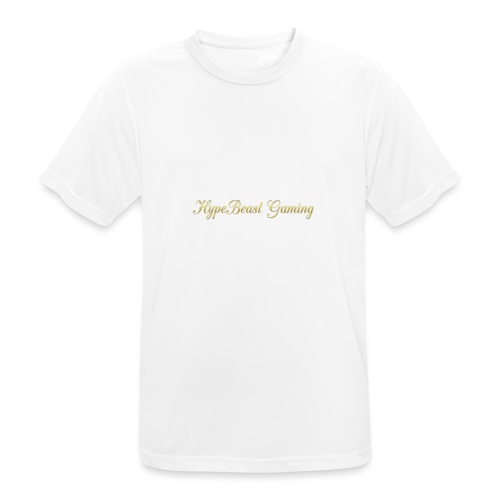 HBG Cool Handwriting - Men's Breathable T-Shirt