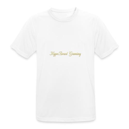 HBG Cool Handwriting - Men's Breathable T-Shirt