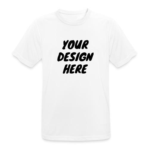 printfile front 9 - Andningsaktiv T-shirt herr