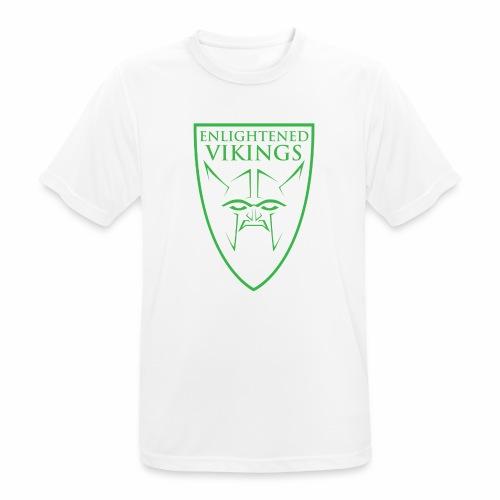 Enlightened Vikings (Org) - Pustende T-skjorte for menn